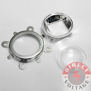 44mm Lens Reflector Collimator Fixed Bracket For 20w 100w Led Lamp