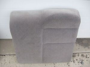 1996 97 98 99 00 Honda Civic 4dr Left Rear Seat Upper Back Cushion Gray Cloth
