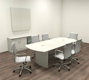 Modern Contemporary 8 Feet Conference Table mt med c8