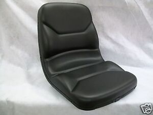 High Back Black Seat Bobcat 463 542 543 642 643 742 743 843 t190 Skid Steer cc