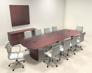 Modern Contemporary 12 Feet Conference Table mt med c12