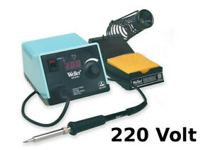 Weller Wesd51d Digital Soldering Station 220 Volt 50 Watt 350 850 Degree Adjust