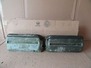 Chevy Camaro 1967 1968 1969 Arm Rest Bases Pad Ss Rs Z28 Green Gm