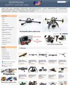 Www quadframe us Source For Multicopter Parts Domain For Sale