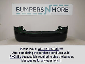 Oem 2011 2014 Chevy Cruze Lt ls ltz eco W o Rs Package Rear Bumper Cover