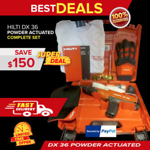 Hilti Dx 36 Free Kit Brand New 2 Years Warranty Strong L k Fast Ship