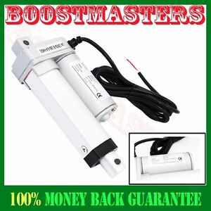 8mm s Spd Dc 12v 50mm Or 2 Stroke Linear Actuator 1000n push 220 Lbs Max Lift