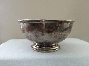 Webster Company Sterling Silver Revere Style 4 74 Bowl 107 Grams No Monogram