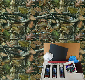 Hydrographics Dip Kit Activator Water Transfer Printing Leafy Greens Camo 146