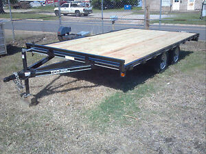 New 2018 84 x14 Custom Atv Utility Haul Deckover Trailer