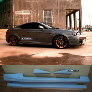 M S Metaphor Side Lip Side Skirts For Hyundai Tiburon Tuscani 02 08