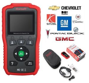Gm General Motors Diagnostic Scanner Code Reader Icarsoft I900 Abs Srs Scan Tool