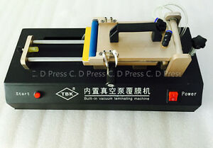 Manual Oca Laminating Machine Built in Vacuum Pump Laminator For Mobile Phone