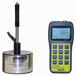 Phase 2 Pht 1800 Portable Hardness Tester W 5yr Warranty From Phase 2