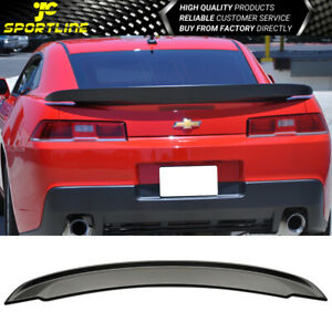 Fits 2014 2015 Chevrolet Camaro Oe Style Flush Mount Trunk Spoiler Wing
