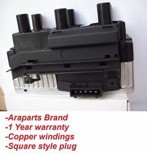 Vw Ignition Coil Pack Jetta Passat Vr6 Golf Gti 93 97 Some 98 00 Square Style