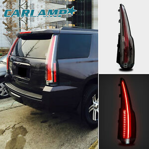 Led Tail Lights For 2015 2018 Chevrolet Tahoe Suburban Rear Lamp Escalade Style
