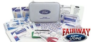Ford Factory Emergency Roadside First Aid Kit Custom Fire Retardant Case New