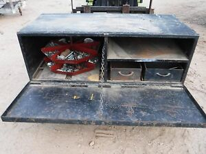 Used Heavy Duty Tool Box Storage For Truck 60 X 28 X 20