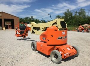 2019 Certified Jlg E400ajpn Articulating Boom Lift