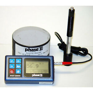Phase 2 Pht 2500 Portable Hardness Tester W 5yr Warranty