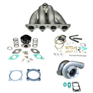 Civic Crx Eg Ek Ef D15 D16 D series Sohc Gt35 Top Mount Manifold Turbo Kit