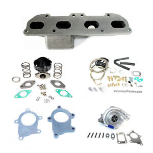 Mitsubishi Eclipse 90 94 95 99 420a T3t4 T04e Manifold Turbo Charger Setup Kit