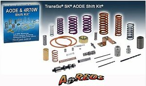 Transgo Aode 4r70w 4r75w Shift Kit Ford Lincoln Mercury 91 08 Mustang 94 up