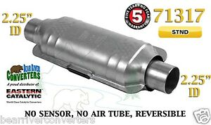71317 Eastern Universal Catalytic Converter Standard 2 25 2 1 4 Pipe 12 Body