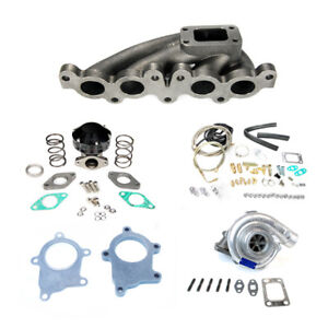 90 94 3sgte Mr2 Sw20 Mr 2 T3t4 T3 Manifold Turbo Charger Set Up Kit 400 hp
