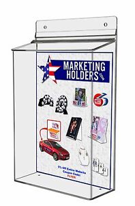 8 X 11 Outdoor Brochure Catalog Display Holder Literature Box