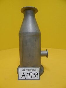 Edwards High Vacuum Reducer Tee Iso100 Iso k To Nw50 Used Working