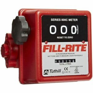 Fill rite Fuel Meter 807c1 1 Mnpt 5 20 Gpm Tuthill Fuel Meter Mechanical