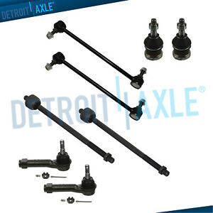 Complete 8pc Front Suspension Kit Dodge Grand Caravan Chrysler Town