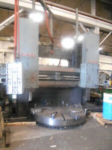 90 5 Shibaura Toshiba Vertical Boring Mill With 79 Table Excellent