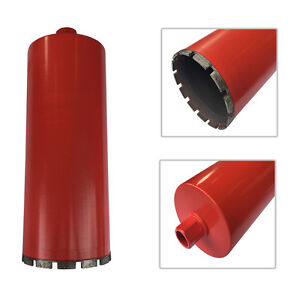 6 Wet Diamond Core Drill Bit For Concrete Granite Coring 1 1 4 7 Arbor