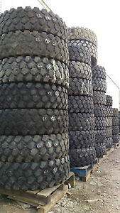 Used 14 00r20 Xzl Michelin Military Mud Tires