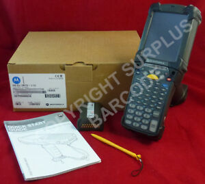 Symbol Motorola Mc9090 g Wireless Laser Barcode Scanner Windows Mobile 5 0 6 1