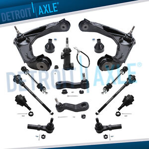 Front Upper Control Arms Ball Joint Tie Rod Chevy 2500 Trucks Control Arms 13pc