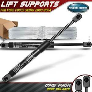 2x Tailgate Trunk Lift Supports Shock Struts For Ford Focus 2000 2004 8196042