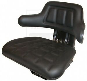 W222bl Universal Tractor Seat Black For Ford 2000 3000 4000 5000