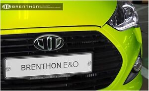 Brenthon Grill Trunk Emblem Badge For 2011 2016 Hyundai Veloster Turbo 2pc