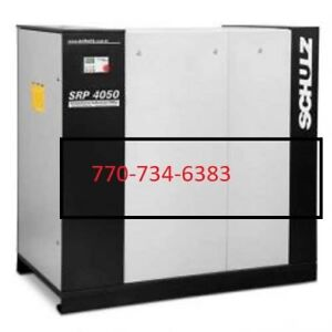 Schulz Air Compressor Srp4050 50hp Rotary Screw 207 Cfm New