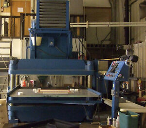 200 Ton 4 Post Die Cutter