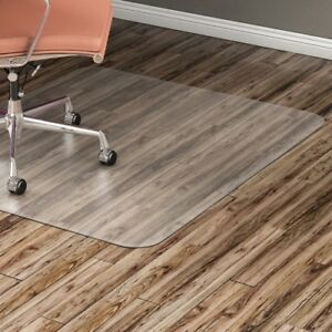 Hard Floor Chairmat Rectangular 36 x48 Clear Llr82825