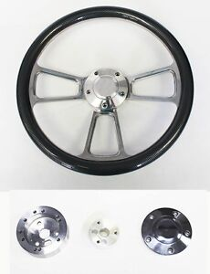 1970 s Dodge Dart Charger Demon Carbon Fiber And Billet Steering Wheel 14