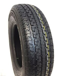2 New St 205 75r15 Radial 8 Ply Rated D 2057515 205 75 15 Trailer Tire