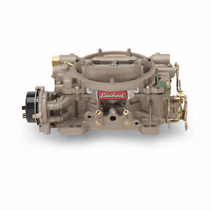 Edelbrock 1410 Carburetor Marine Perf 750 Cfm Electric