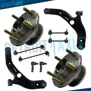 Brand New 10pc Complete Front And Rear Suspension Kit For 1999 02 Mazda Protege