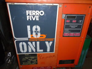 Ferro Five Fr Series C d Technologies Industrial Forklift Battery Charger